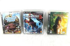 PS3 Playstation 3 Lot of Games Uncharted 2 Narnia Caspian Little Big Planet