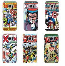 Vintage Comic Xmen Wolverine Avangers DC Phone Cover Case fits Samsung Galaxy S