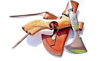 MDM AXE, Hand Forged Tomahawk Viking Axe, Bearded Axe, Hatchet, Spike Axe, Knive