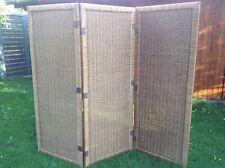 Paravent Raumteiler aus Weide 3tlg. Raumtrenner Spanische Wand
