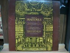 LP: PRAETORIUS Motets Early Music Consort London MUNROW