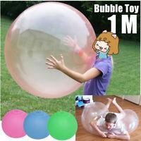 1 m/40'' Aufblasbarer Riesenball Riesenblase Wubble Bubble Ball Spielzeug Gummi