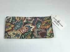 NORDIC HOUSE DESIGNS NYC  FLORAL PAISLEY DESIGN CHECKBOOK COVER  NWT