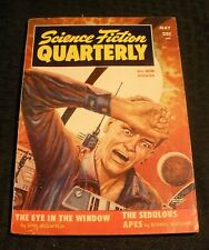1955 May SCIENCE FICTION QUARTERLY Pulp Magazine v.3 #5 VG+ 4.5 Sam Merwin Jr