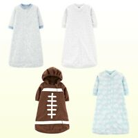 NWT Carter's Sleepsack Baby Boys / Unisex Microfleece Sleepbag Sleepwear 1 Piece