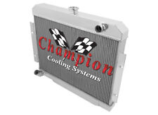2 Row All Aluminum Performance Radiator For 1970 - 85 Jeep CJ Series