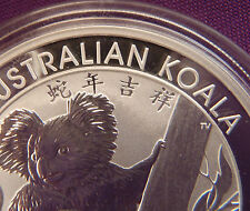 2013 Australian Koala Gem Uncirculated 1 oz Silver Coin, Chinese Privy RARE
