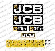 JCB 1THT DUMPER DECAL STICKER SET