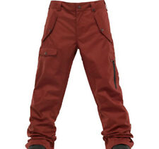 Burton Men TWC Indecent Exposure Snowboard Pants (L) Biking Red