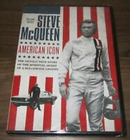Steve McQueen: American Icon (DVD, 2018) .. Sealed New