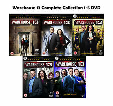 Warehouse 13 Complete Collection 1-5 DVD All Season 1 2 3 4 5 Original UK New R2