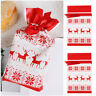 Drawstring Santa Claus/Snowman Candy Gift Storage Bag Home Christmas Decor 2019Y