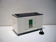 LEGO® Eisenbahn Container weiß für 3677, 7898, 7938, 7939 - City - NEU 4