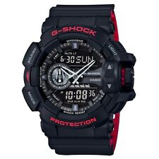 Casio GA-400HR-1AER Mens G-Shock World Time Black Combi Watch RRP £130
