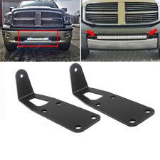 "For 2010-2015 Dodge Ram 2500/3500 Fit 20"" LED Light Bar Hidden Bumper Mounts"