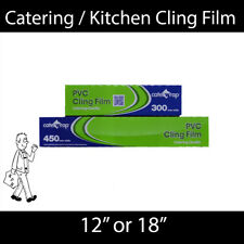 Catering / Kitchen Cling Film 300mm or 450mm wide - 300m long!!