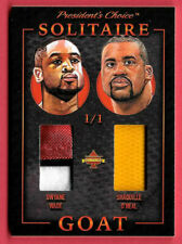 2020 Shaquille O'Neal - Dwyane Wade President's Choice Solitaire 1/1 Dual Relic