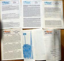 5x Manual ROCO 43230 43218 43270 43203 46900 å