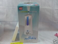 Ultrasonic Humidifier Air Innovations W/Antibacterial Filter Led Light 3.0L New