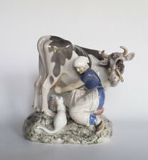 Bing & Grondahl Milkmaid Figurine designed by Axel Locher #2017
