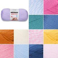 Bernat Baby Softee Solid DK Double Knitting Yarn Acrylic 140g Ball