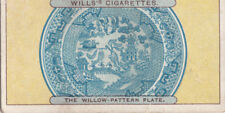 The Willow-Pattern Plate Chinese Assiette Chinoise China Chine  IMAGE OLD CARD