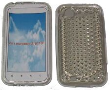 For HTC Incredible S G11 S710E Pattern Gel Case Protector Cover Clear New UK