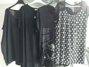 Festliches Damen Kleiderpaket Bluse Blusentop Tunika Größe 48. XL/XXL