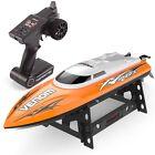 Udirc RC Boat 2.4GHz High Speed Remote Control Electric Boat Power Venom Orange