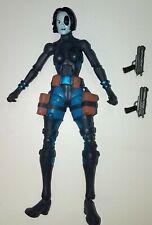 """Marvel Legends DOMINO Loose 6"""" Action Figure Hasbro Walmart Exclusive 2007"""