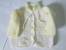 knitted winter shirt homemade for baby or small kid from cotton original-natural