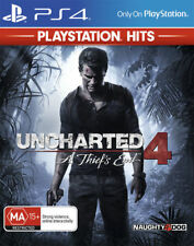 Uncharted 4: A Thief's End - Playstation 4 (PS4) Hits Brand New Sealed