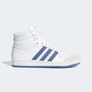 adidas Originals Mens Top Ten High shoes white