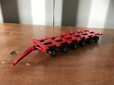 Corgi Modern Truck Heavy Haulage Nicholas Bogie X2 Plain Red 1/50