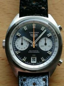 Original vintage Heuer Carrera 1153 in amazing condition