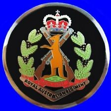 RAR ROYAL AUSTRALIAN REGIMENT INFANTRY COIN MEDAL IN PRESENTATION CASE