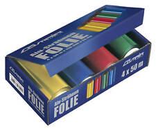 Friseur Alufolie Strähnenfolie 4 x 50 m bunt 24my #0