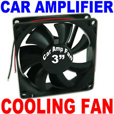 12 Volt Small Amp Cooling Fan Car Audio Amplifier Cool