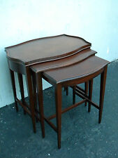 Set of Three Mahogany Nesting Tables by Imperial 3082