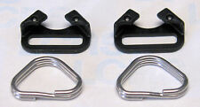OLYMPUS Strap Rings & Covers (pair) [Black]