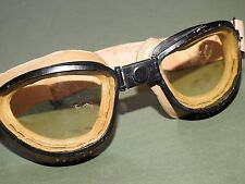"US Army WW2 AFRICAN-AMERICAN MILITARY POLICE ""SKYWAY"" HARLEY MOTORCYCLE GOGGLES"