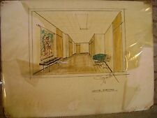 LOUIS FORMAN  DRAWING FOR HOME RENOVATION SET OF 2