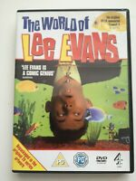 The World Of Lee Evans (DVD, 2006) Bafta Nominated Comedy Very Funny - 6L1