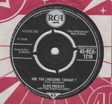 "Elvis Presley ""Are You Lonesome Tonight/I Gotta Know"" RCA 1960 7"""