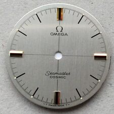 Omega Silver Dial, Genuine, Genuine, COSMIC, Seamaster, Caliber 601, Ø 30,5 mm