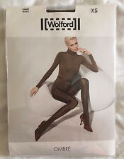 Wolford Womens Ombre Tights Bison Black Size X Small Style 14415