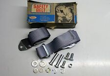 MK1 CORTINA GT CONSUL GENUINE FORD NOS FRONT COMBINATION SAFETY SEAT BELT ASSY