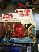 Rey (Jedi Training) & Elite Praetorian Guard STAR WARS 2-Pack
