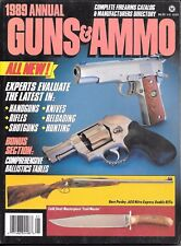 Guns & Ammo magazine 1989 Annual  complete firearms catalogue & mfg directory