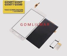 TOUCH Digitizer + LCD Display For Samsung Galaxy On5 G550T G550T1 G5500 WHITE